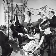 Studenten feestje jaren '50