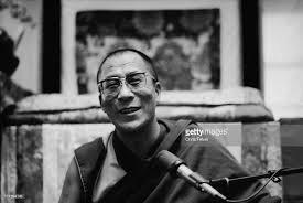 Foto portret Dalai Lama